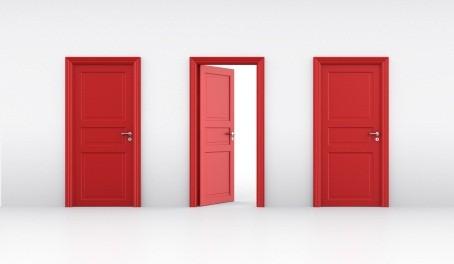 Отворена врата