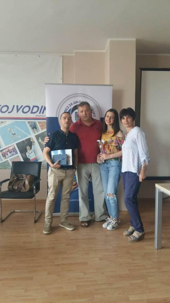Прва награда на Спортској школској олимпијади